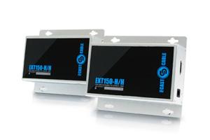 Комплект (transmitter-receiver) для IP передачи FullHD (1920x1080) HDMI видео и аудио сигнала по CAT5E/CAT6 на расстояние до 150m