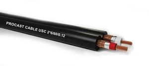 PROCAST Cable USC 2*6/60/0.12