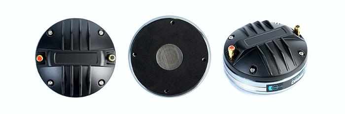 CVGaudio DR810 -Компрессионный ВЧ драйвер, мембрана POLYESTER, неодим, 110 Вт AES, 107,5 дБ, 500-18000 Гц, 8 Ом, кнопочные зажимы