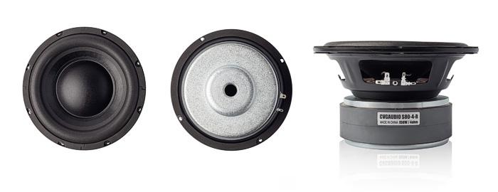 CVGaudio S80-4-R - 8 дюймовая динамическая головка НЧ диапазона (сабвуфер), 150W(RMS) / 300W(max), 88,1dB, 4ohm