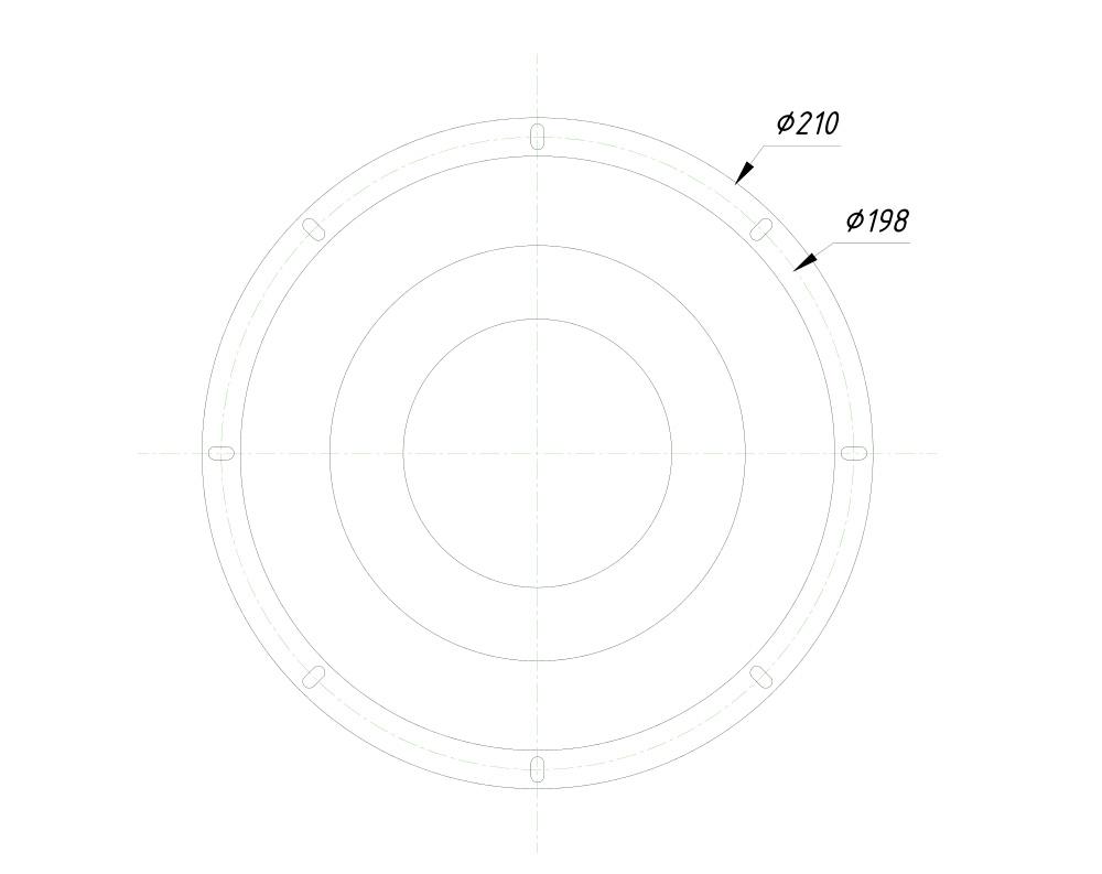 CVGaudio S80-4-R, чертеж