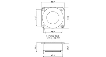 SPL / Frequency для SICA Z008985 LP53x58.28/N20