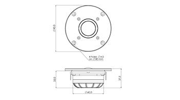 SPL / Frequency для SICA Z009160С LP90.28/N92