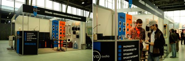 """Компания CVG audio на выставке """"Москва-Музыка 2012"""""""