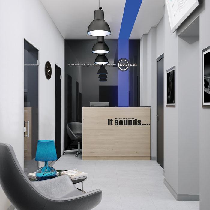 Новый офис компании CVGaudio