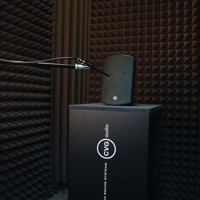 Новая звуковая лаборатория для акустических замеров продукции компании CVGaudio