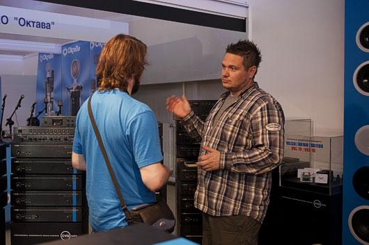 Компания CVGaudio на выставке Prolight & Sound NAMM Russia 2013