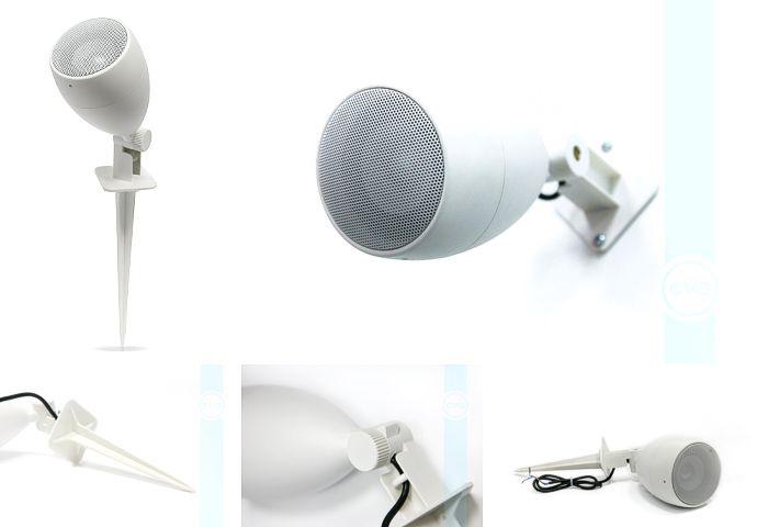 Ландшафтная акустика - широкополосные акустические системы CVGaudio Flo308Bl и CVGaudio Flo308W
