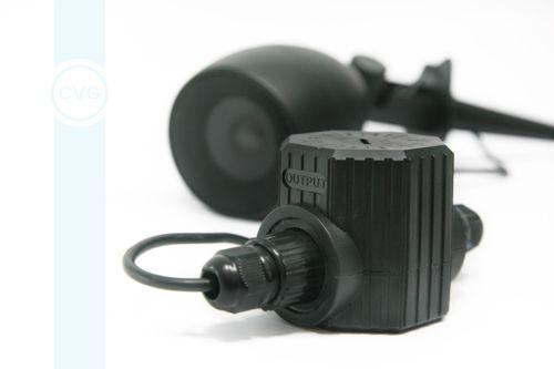 CVGaudio TOD-20 влагозащищенный (IP65) трансформатор для подключения 8ohm акустических систем к 100V трансляционной линии
