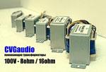 В каталоге CVGaudio появились понижающие акустические трансформаторы