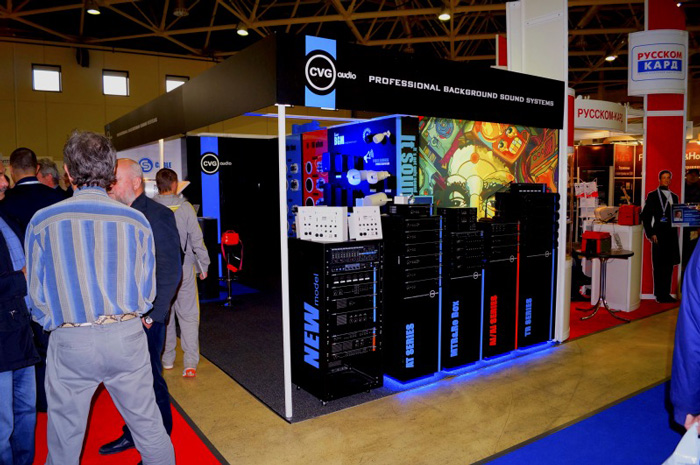 CVGaudio на выставке Integrated Systems Russia 2014