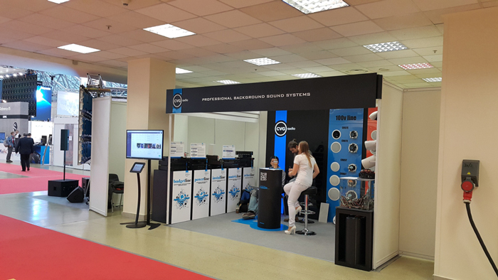 CVGaudio на выставке Integrated Systems Russia 2015