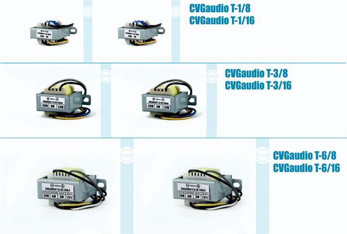 линейка понижающих трансформаторов для подключения низкоомных акустических систем