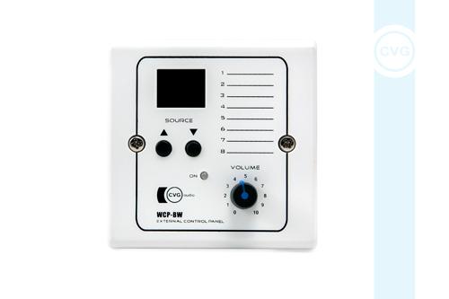 Настенный зональный контроллер CVGaudio WCP-BW