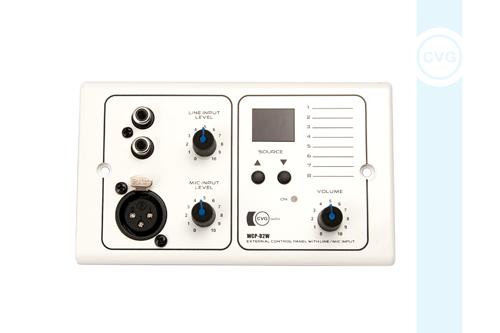 Настенный зональный контроллер CVGaudio WCP-D2W