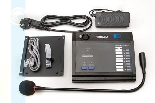 Настольная микрофонная консоль CVGaudio MCP-8