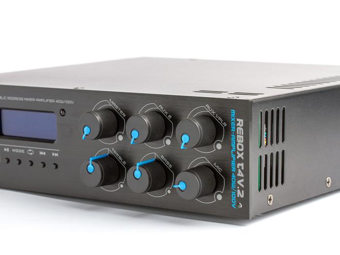 Бюджетный микшер-усилителm CVGaudio серии ReBox