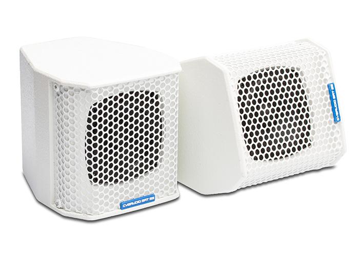 CVGaudio SAT-S3W - Профессиональная широкополосная 3-х дюймовая акустическая система / сателлит, цвет белый