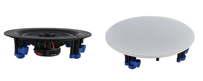 CVGaudio CL608 низкопрофильная встраиваемая в потолок двухполосная акустическая система