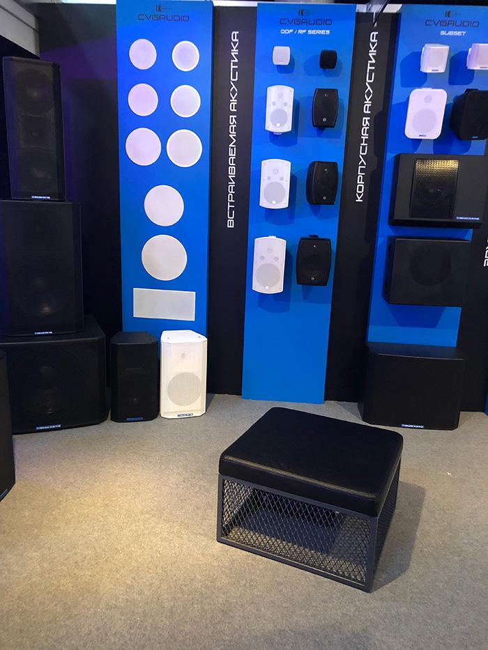 CVGaudio на международной выставке профессионального звукового и светового оборудования Prolight & Sound Russia 2018 в Сокольниках