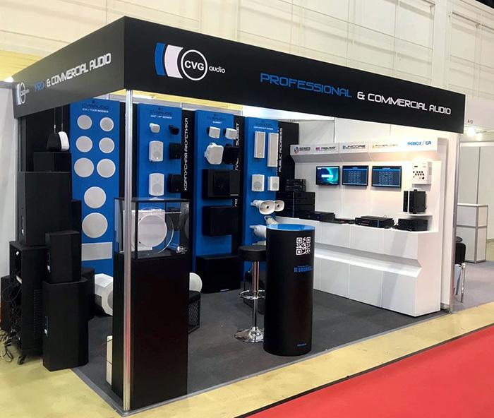 Компания CVGaudio на выставке Integrated Systems Russia 2018
