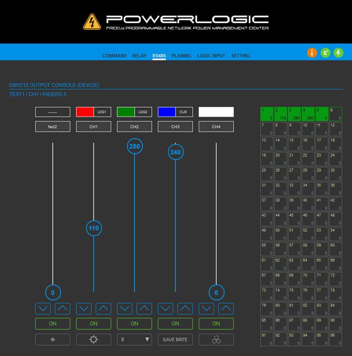 Power Logic DMX - управление светодиодным архитектурным или интерьерным освещением фактически любого объекта