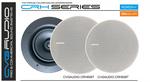 На склад поступили новые встраиваемые в потолок высококачественные двухполосные акустические системы серии CRH