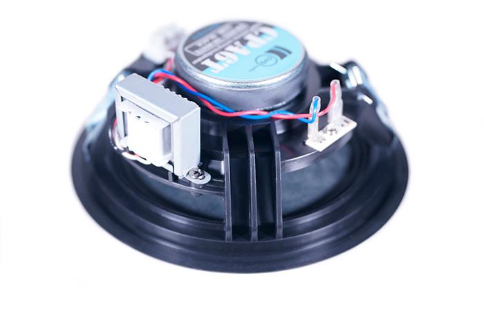 CVGaudio CPA6T-Bl – широкополосный, встраиваемый в потолок громкоговоритель для систем голосового оповещения и музыкальной трансляции (Public Address)