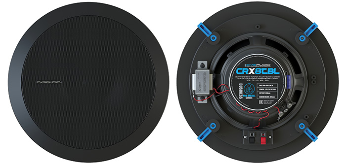 Потолочная двухполосная трансляционная акустика CVGAUDIO CRX8TBL