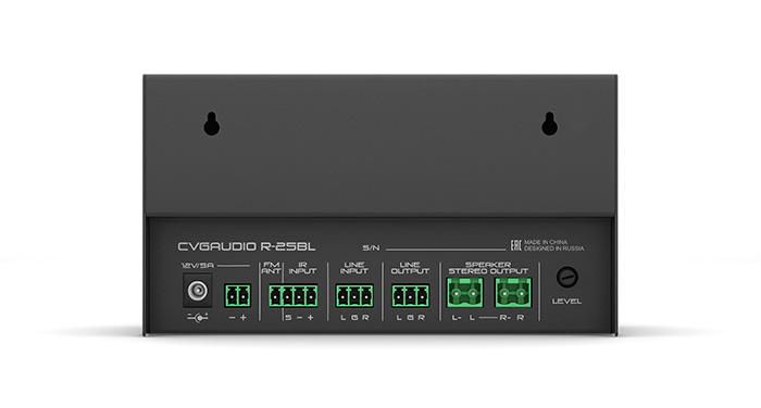 CVGAUDIO R-25 - маленький двухканальный (стерео) усилитель, работающий в D-классе