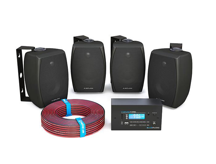 CVGAUDIO reSET - комплекты аудио оборудования и коммутации для коммерческого фонового звука