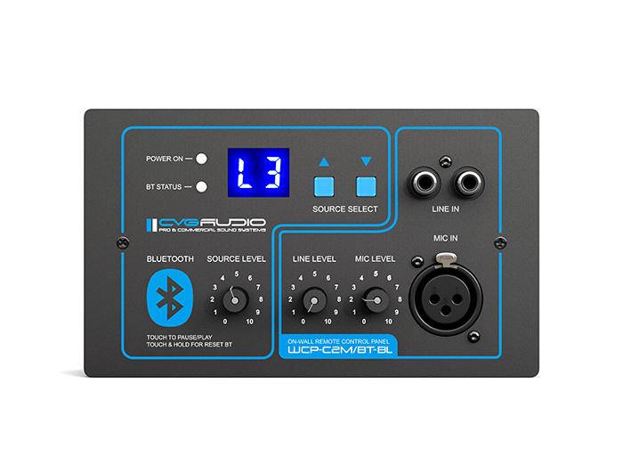 CVGAUDIO WCP-C2M/BT-BL - внешний контроллер управления громкостью для PMM-380, с модулем BT, черный