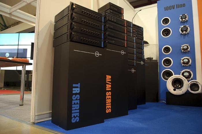 Компания CVGaudio на международной выставке Integrated Systems Russia 2012